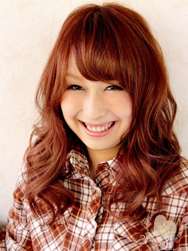 可愛さイチオシ☆のピンク系カラーに柔らかカールで愛されフワゆるカール